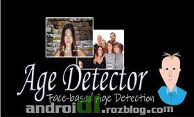 تخمین سن با Age Detector (Meter) v1.3